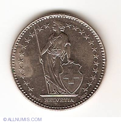 coin of 2 francs 1992 from switzerland id 8348. Black Bedroom Furniture Sets. Home Design Ideas