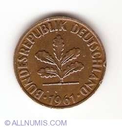 Image #2 of 2 Pfennig 1961 G