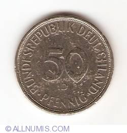 Imaginea #1 a 50 Pfennig 1971 D