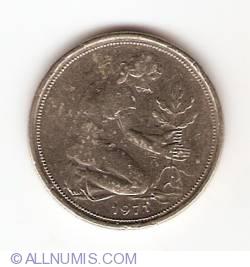 Imaginea #2 a 50 Pfennig 1971 D