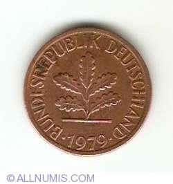 Image #2 of 1 Pfennig 1979 D