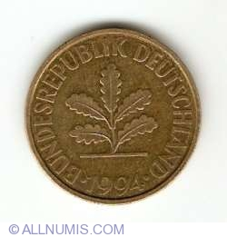 Image #2 of 10 Pfennig 1994 A