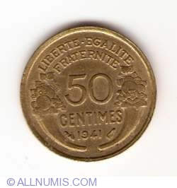 50 Centimes 1941