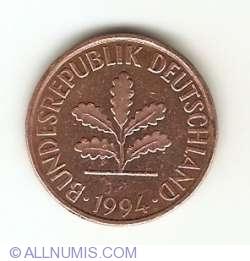 Image #2 of 2 Pfennig 1994 F