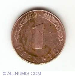 Image #1 of 1 Pfennig 1948 G