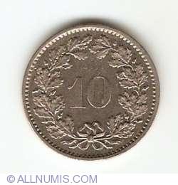 10 Rappen 1974