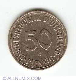 50 Pfennig 1950 G