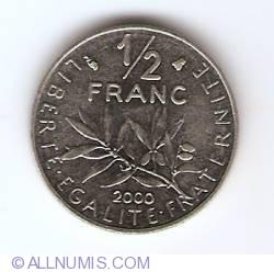 Image #1 of 1/2 Franc 2000