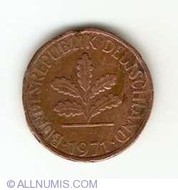 Image #2 of 1 Pfennig 1971 G