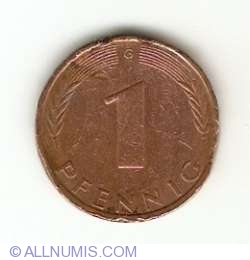 Image #1 of 1 Pfennig 1971 G