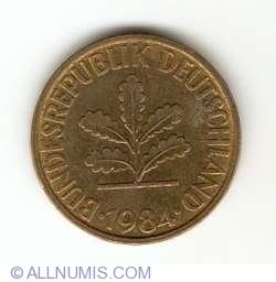 Image #2 of 10 Pfennig 1984 D