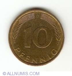 Image #1 of 10 Pfennig 1984 D