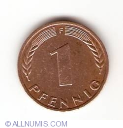 Image #1 of 1 Pfennig 1971 F