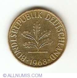 Image #2 of 10 Pfennig 1968 G