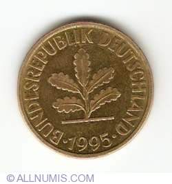 Image #2 of 10 Pfennig 1995 G
