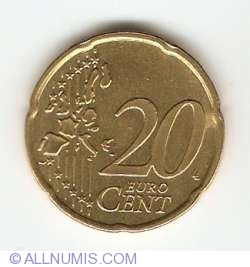 Image #1 of 20 Euro Cent 1999
