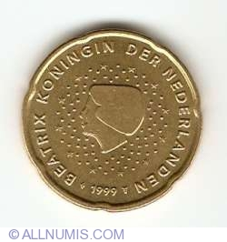 Image #2 of 20 Euro Cent 1999