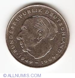 2 Mark 1982 F - Theodor Heuss