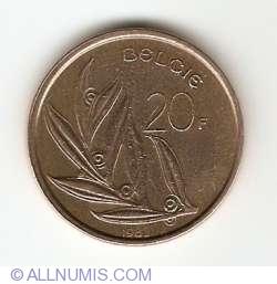 Image #1 of 20 Francs 1982 (Belgie)