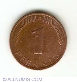Image #1 of 1 Pfennig 1976 G