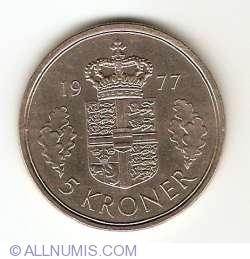 Image #1 of 5 Kroner 1977