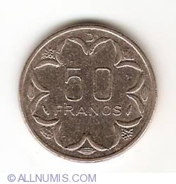 Image #1 of 50 Francs 1985 D - Gabon