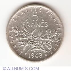 Image #1 of 5 Francs 1963