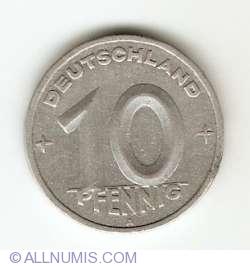Imaginea #1 a 10 Pfennig 1949 A