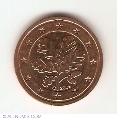 2 euro cent 2009 g euro 2002 present germany coin. Black Bedroom Furniture Sets. Home Design Ideas