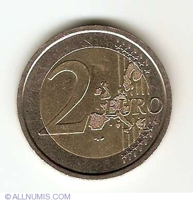 2 Euro 2004 World Food Programme Euro Commemorative 2002 Present Italy Coin 6293