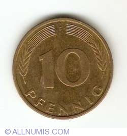 Image #1 of 10 Pfennig 1994 F