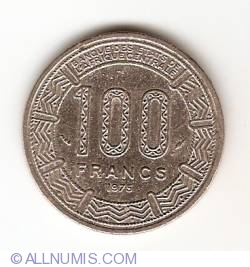 100 Franci 1975
