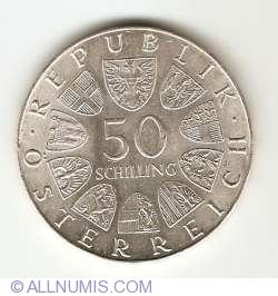 Image #1 of 50 Schilling 1972 - 350th Anniversary - Salzburg University