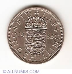 Image #1 of 1 Shilling 1955