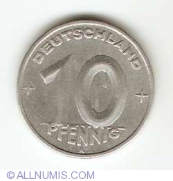 10 Pfennig 1948 A
