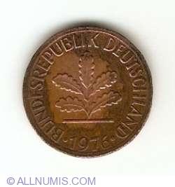 Image #2 of 1 Pfennig 1976 J