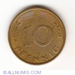 Image #1 of 10 Pfennig 1982 F