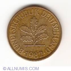 Image #2 of 10 Pfennig 1982 F