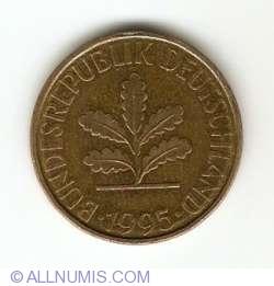 Image #2 of 10 Pfennig 1995 A