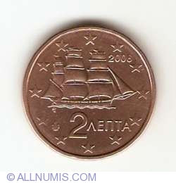Image #2 of 2 Euro Cent 2006
