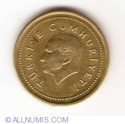 Image #2 of 5000 Lira 1998