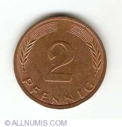 Image #1 of 2 Pfennig 1974 G