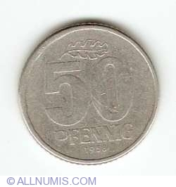 Image #1 of 50 Pfennig 1958 A