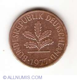 Image #2 of 2 Pfennig 1977 J
