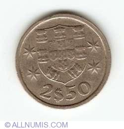 Imaginea #1 a 2 ½ Escudos 1983