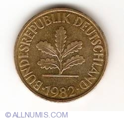 Image #2 of 10 Pfennig 1982 G