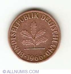 Image #2 of 1 Pfennig 1966 F