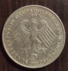 Image #1 of 2 Mark 1988 G - Ludwig Erhard