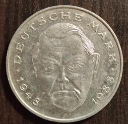 Image #2 of 2 Mark 1988 G - Ludwig Erhard