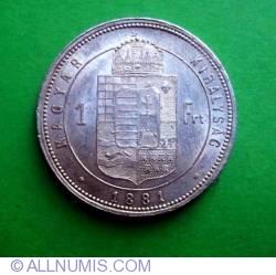 1 Forint 1881
